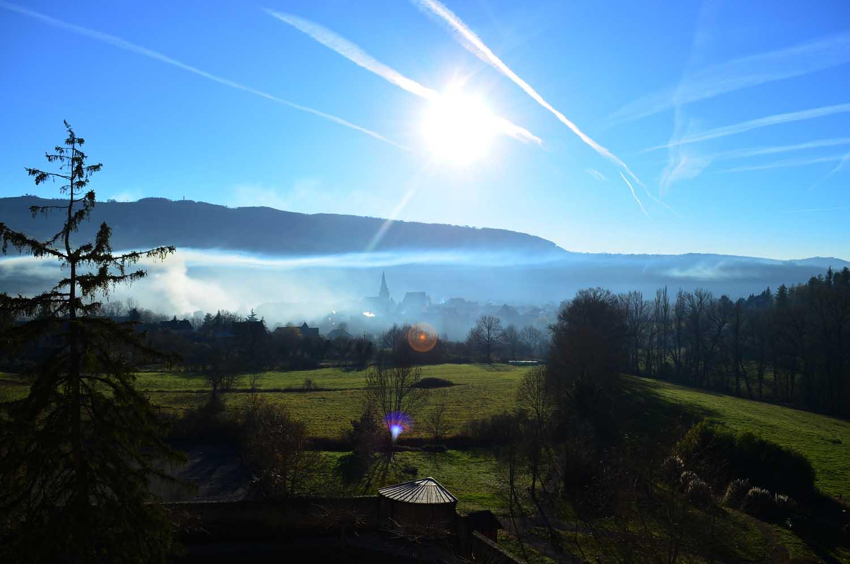 Saint come d olt Aveyron – vue de l'hotel